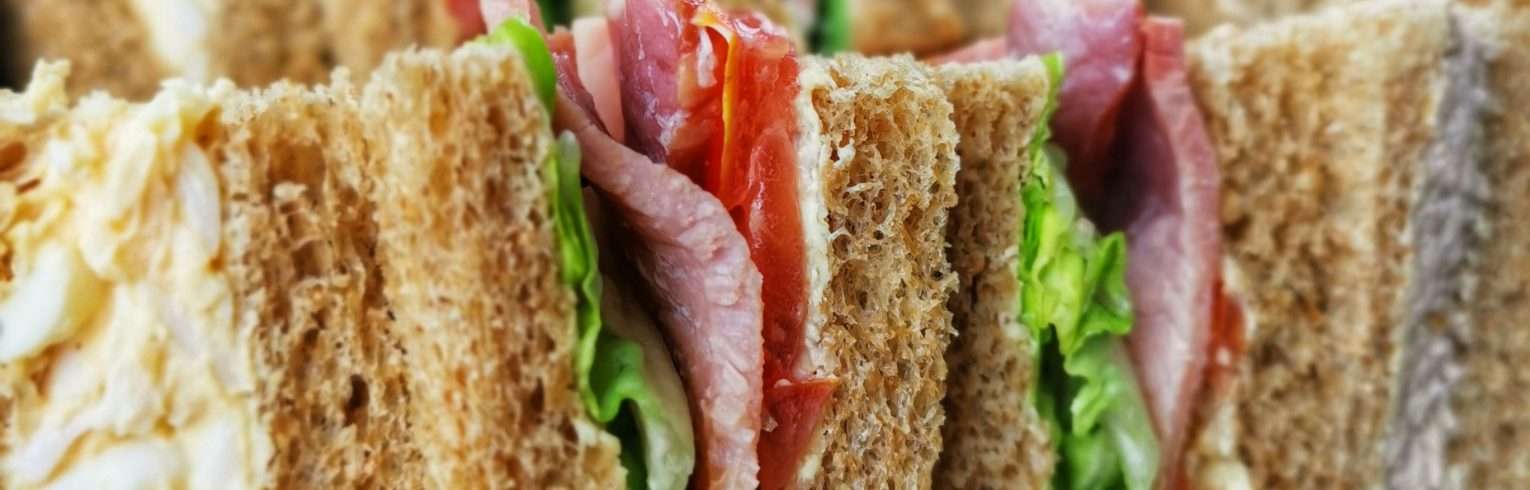 Catering platters sandwiches savoury